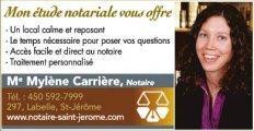 Me Mylene Carriere Notaire