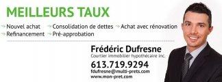 Multi-Prêts Hypothèques - Frédéric Dufresne