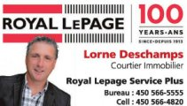 Lorne Deschamps Courtier Immobilier Royal Lepage