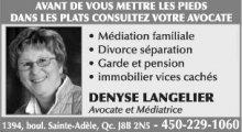 Denyse Langelier Avocate et Médiatrice