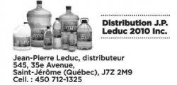 Distribution J.P. Leduc 2010 Inc.