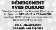Déneigement Yves Durand
