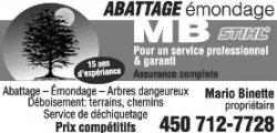 Abbatage-Émondage MB