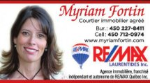 MYRIAM FORTIN Courtier immobilier agréé Remax