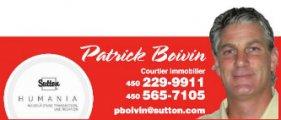 Patrick Boivin Courtier Immobilier Sutton Humania
