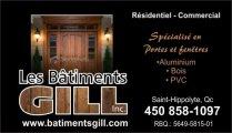 Les Bâtiments Gill Inc.