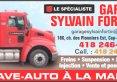 Garage Sylvain Fortin Inc