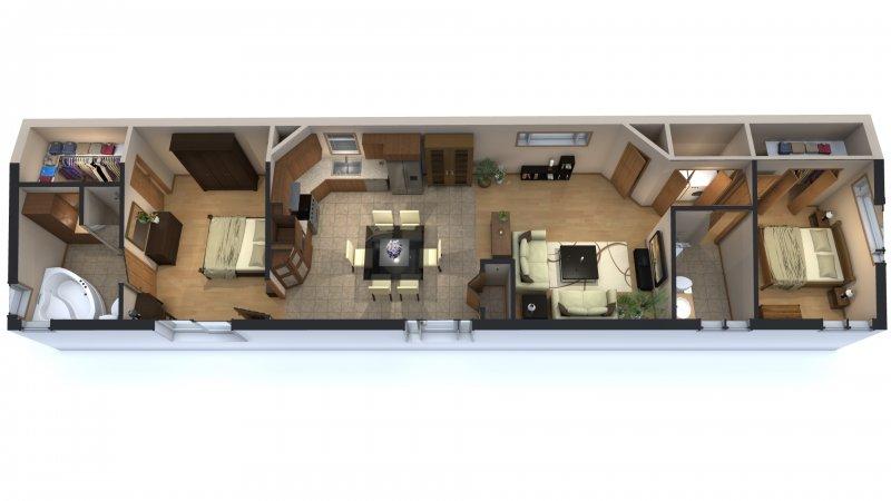 Plans de maison 3d top decoration d interieur moderne for Cours de decoration interieur en ligne gratuit