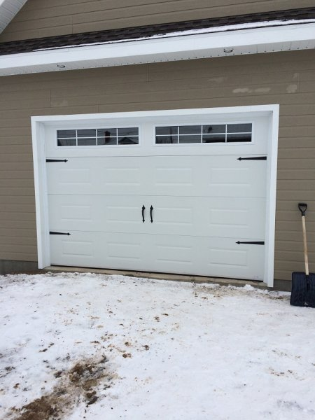Garage et porte de garage jean yves dionne saint pascal - Installation ouvre porte de garage ...