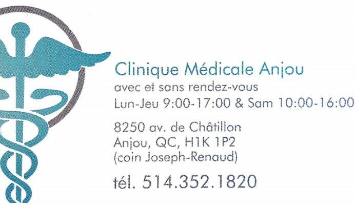 clinique médicale anjou