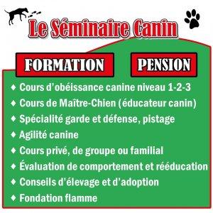 promotion : Le Séminaire Canin